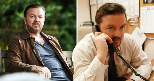 Ricky Gervais After Life / The Office