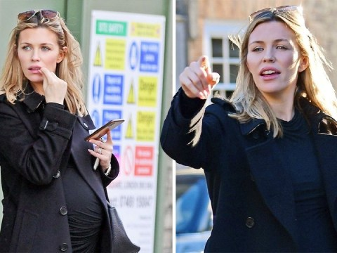 Pregnant Abbey Clancy gets 'baby brain and loses car' after girls trip and it looks like stress