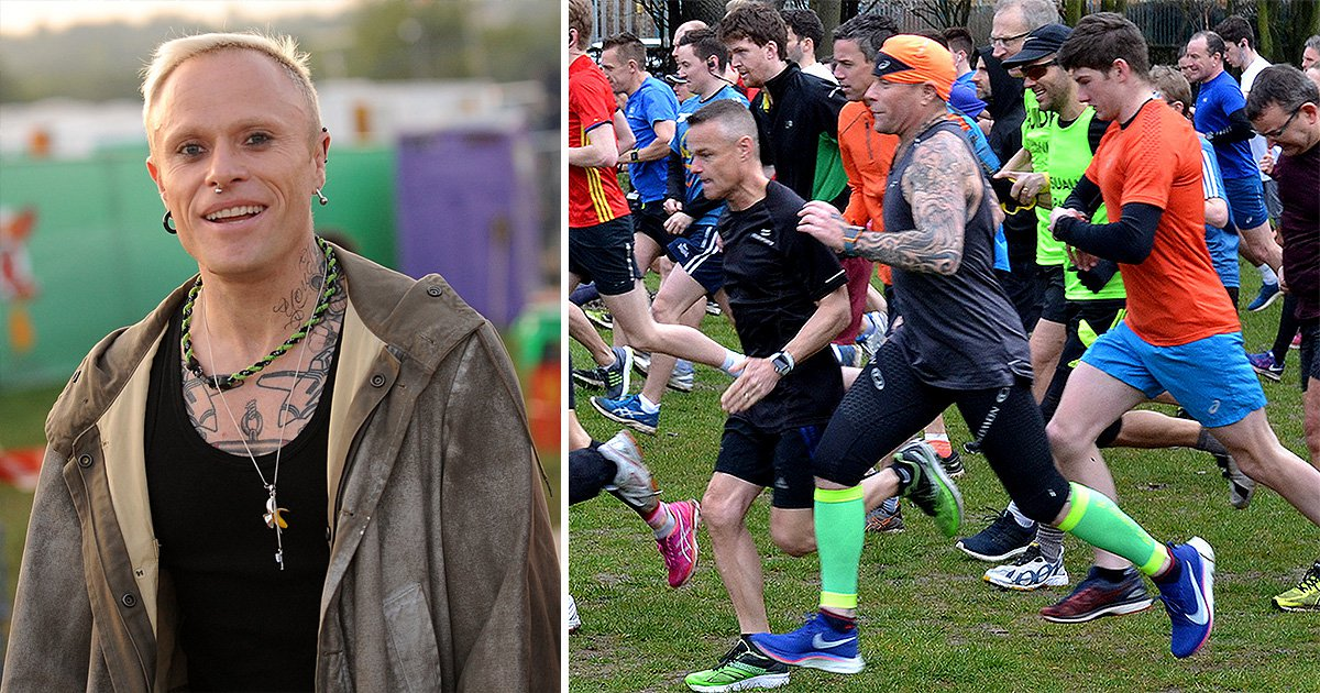 'Last photo' of The Prodigy's Keith Flint sees him completing 5k parkrun two days before death