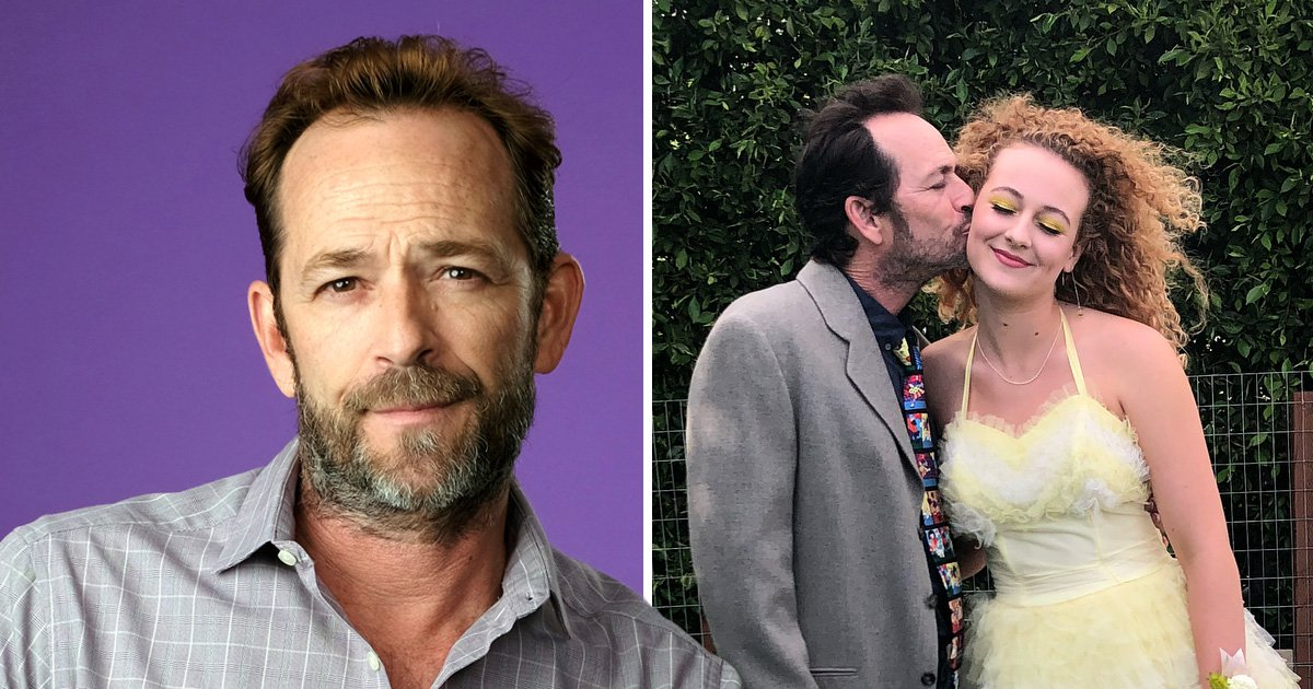Luke Perry's daughter 'rushed from Africa' to be by his side before shock death
