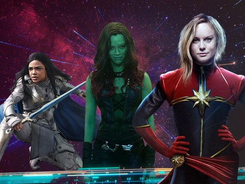 Captain America's Brie Larson is down for all-female Avengers spin-off