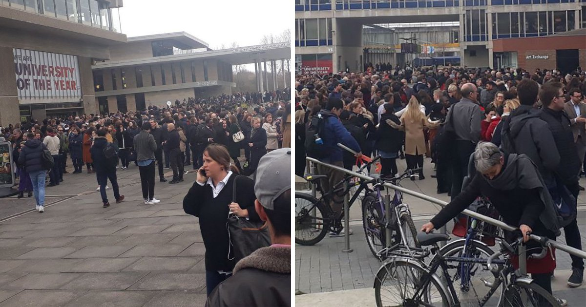 Essex second university evacuated after 'suspicious package' found