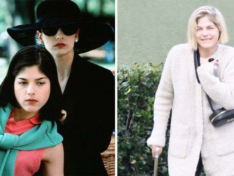 Selma Blair is all smiles walking with cane as she celebrates Cruel Intentions 20th anniversary