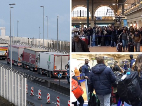 Huge Eurostar queues and 15-mile tailbacks at Calais – this is life after Brexit