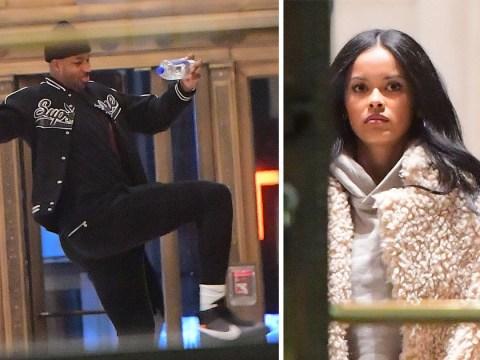 Tristan Thompson leaves hotel with model Karizma Ramirez weeks after cheating on Khloe Kardashian