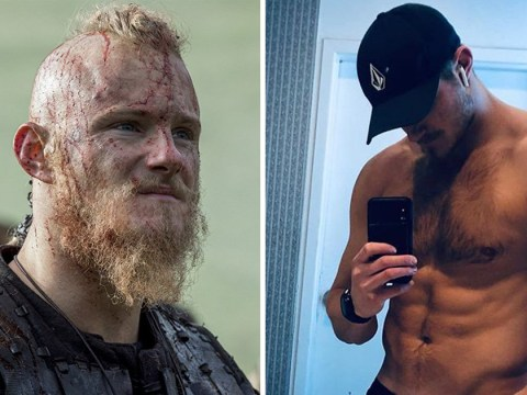 Vikings star Alexander Ludwig has definitely moved on from Bjorn in shirtless photo