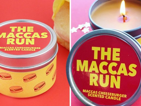 You can now buy a candle that smells just like a McDonald's cheeseburger