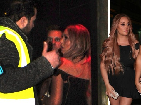 Charlotte Crosby hints at 'betrayal' as she leaves Emily Atack's In The Style launch in tears