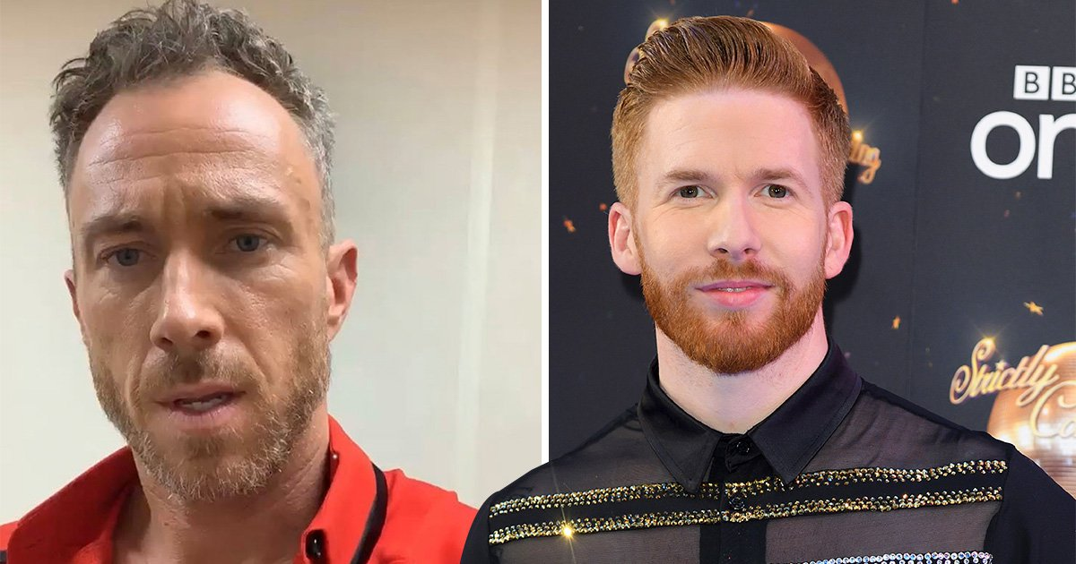 Dancing On Ice star James Jordan calls for Neil Jones to compete on Strictly Come Dancing because he's British