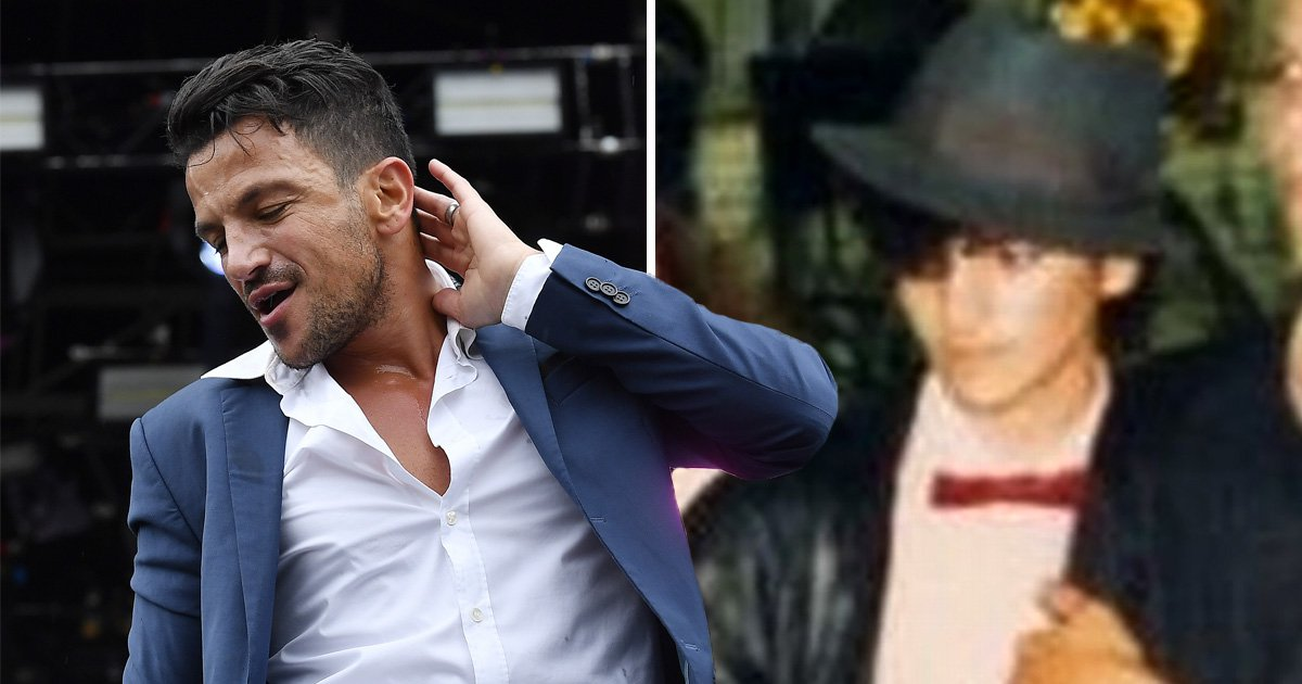 Peter Andre spotted in Michael Jackson Leaving Neverland documentary losing dance competition