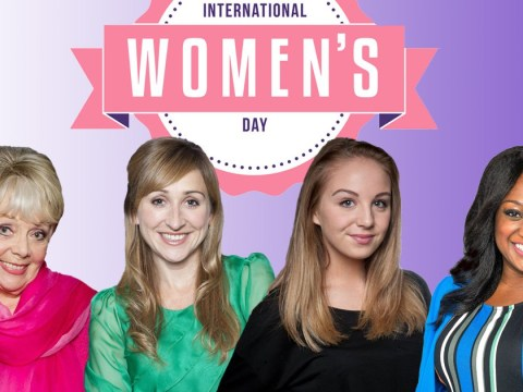 When and what time is Emmerdale's International Women's Day episode on TV?