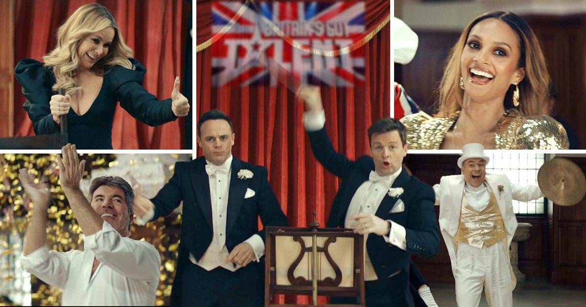 Ant and Dec are back together again in first look at Britain's Got Talent trailer