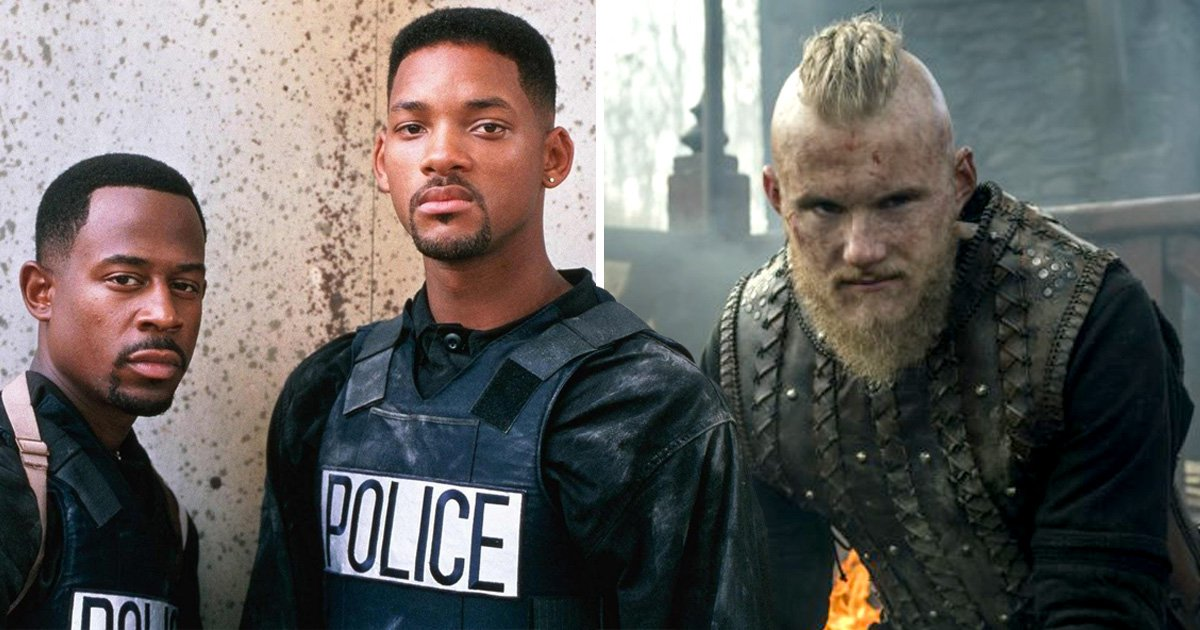 Vikings star Alexander Ludwig gets showered with gifts from Will Smith and Martin Lawrence: 'They're like Santa Claus'