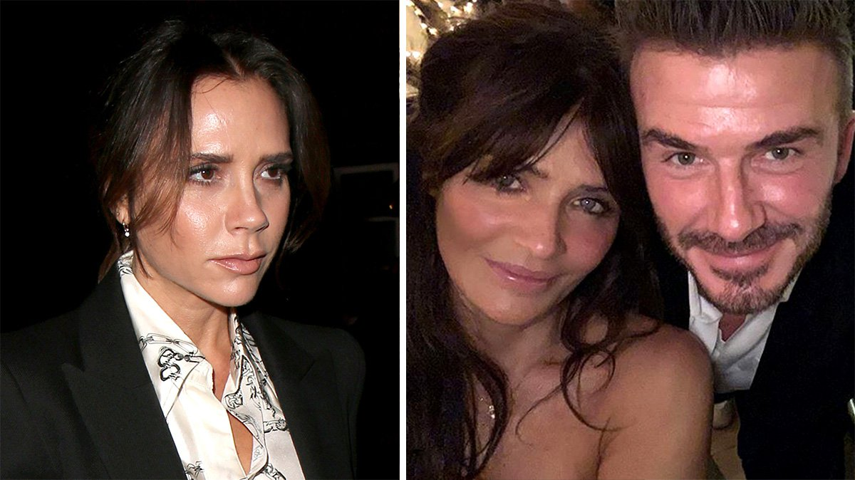 Victoria Beckham 'nervous' about David Beckham's growing friendship with model Helena Christensen