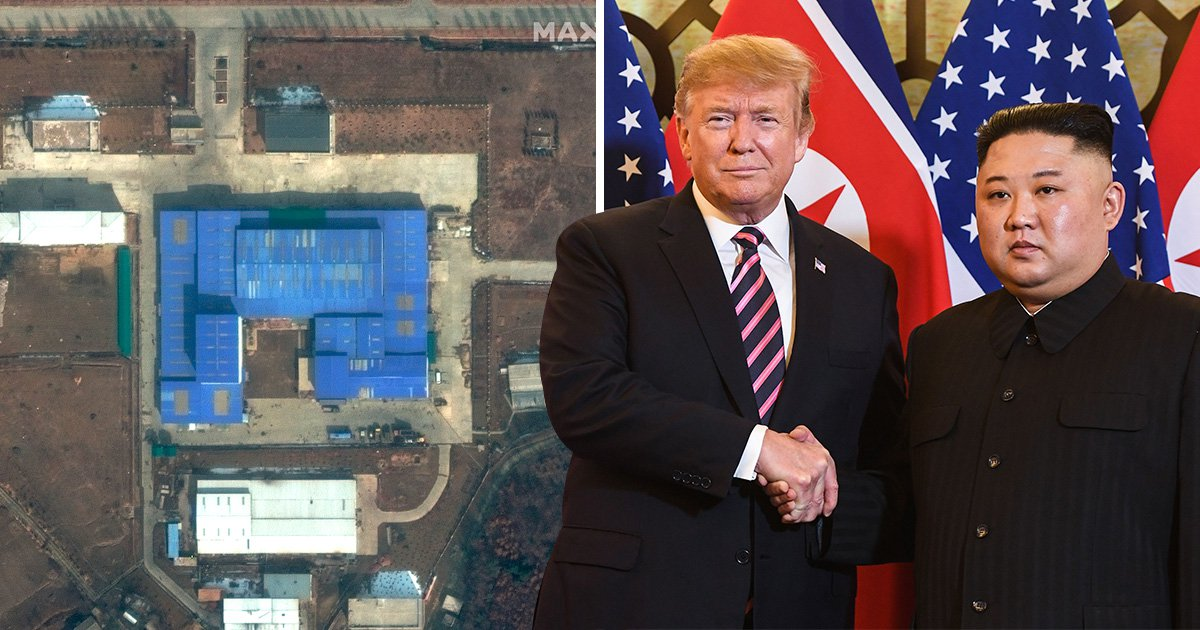 North Korea 'rebuilding second missile site' after failed summit with Donald Trump