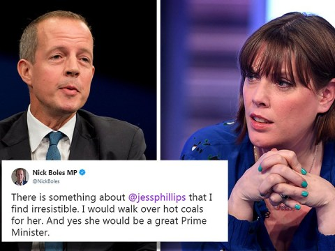 Tory MP blasted online for 'creepy' tweet about Labour's Jess Phillips