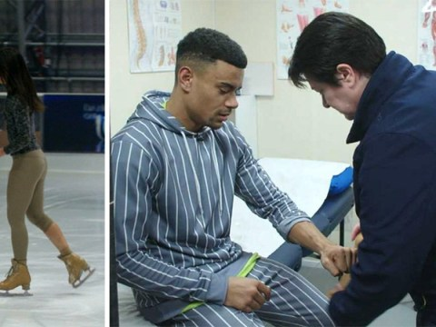 Dancing On Ice's Wes Nelson suffers wrist injury one day before the final