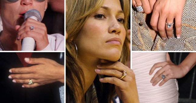 Jennifer Lopez's past engagement rings and who was she ...