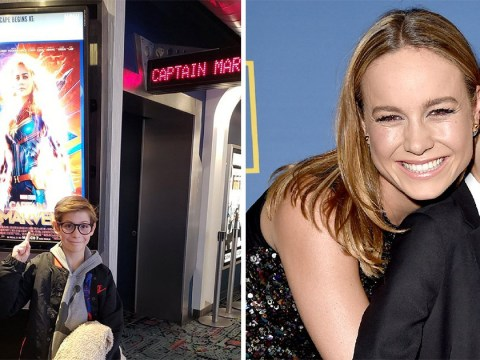 Room's Jacob Tremblay 'proud' of on-screen mum Brie Larson as he raves about Captain Marvel