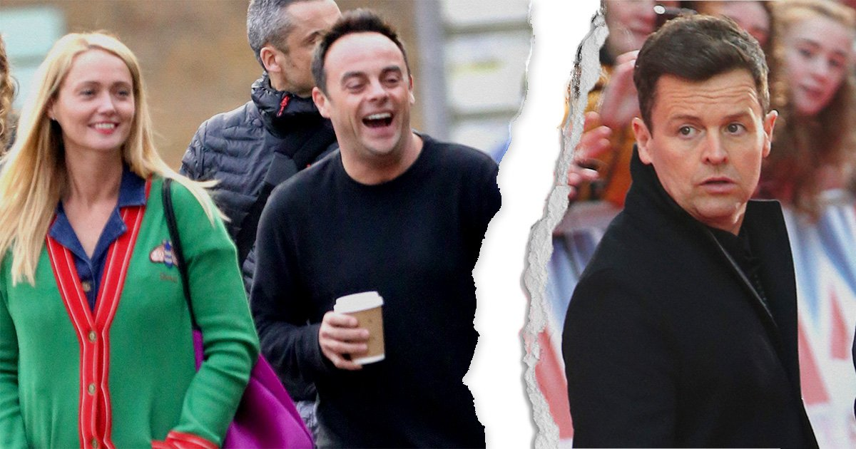 Ant McPartlin swaps Declan Donnelly for Anne-Marie Corbett as couple 'move in together'