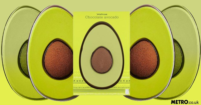 Waitrose's sell-out chocolate avocado Easter egg is back