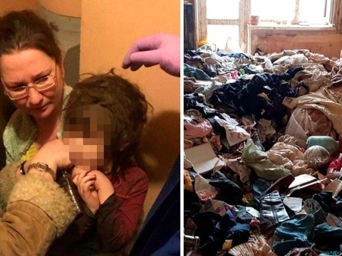 Girl, 5, living in cockroach-infested rubbish after mum left her alone 'for days'