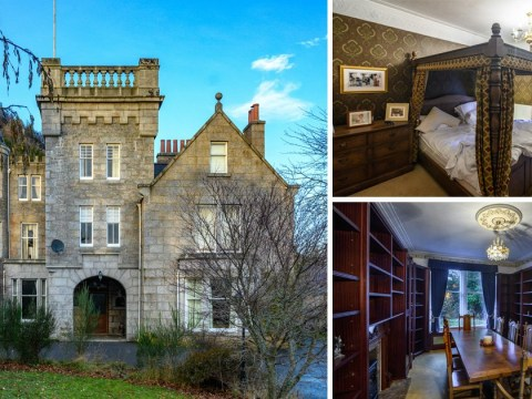 A property next to the royal family's estate is on the market for £750,000