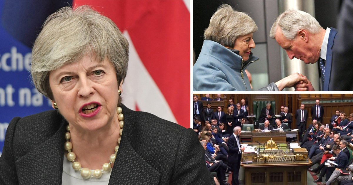 Theresa May secures 'legally-binding' changes to 'strengthen and improve' Brexit deal