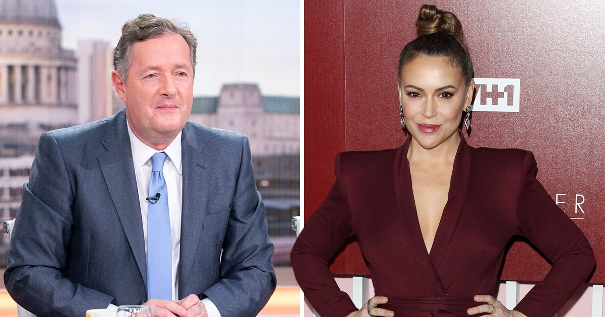 Piers Morgan slams 'patronising' Alyssa Milano for 'I am trans' message: 'What's the matter with her?'