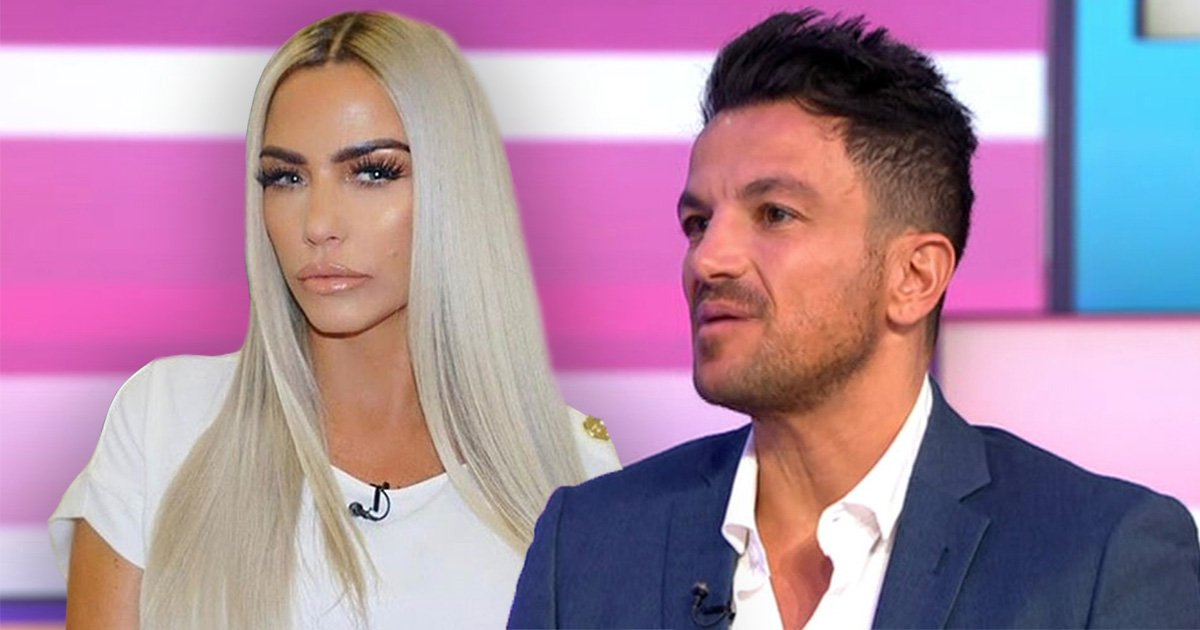 Peter Andre upset over Katie Price questions on Good Morning Britain as he clashes with Piers Morgan