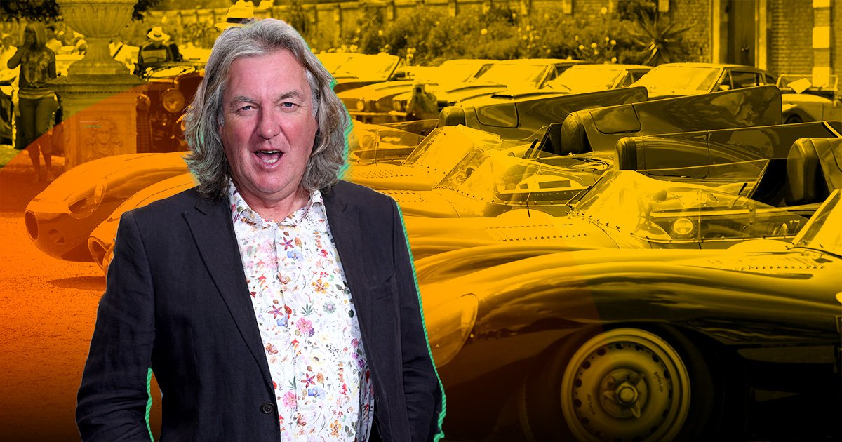 The Grand Tour's James May basically stole a Jaguar for three years