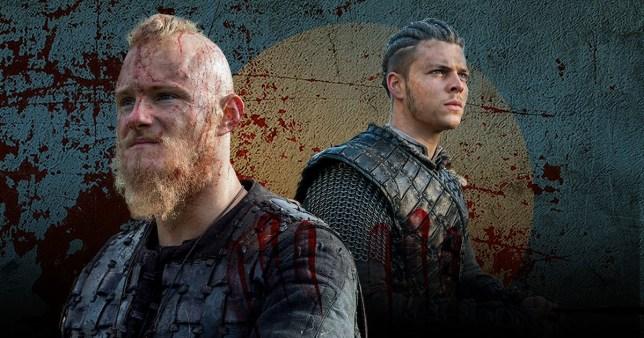 Vikings Bjorn and Ivar