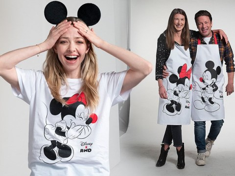 Amanda Seyfried and Jamie Oliver spread some Disney magic for Red Nose Day