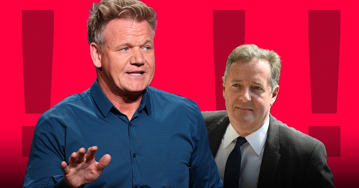 Gordon Ramsay tells Piers Morgan to go f*** himself over veganism criticism