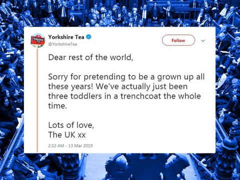 Yorkshire Tea are not at all happy with how Brexit is going