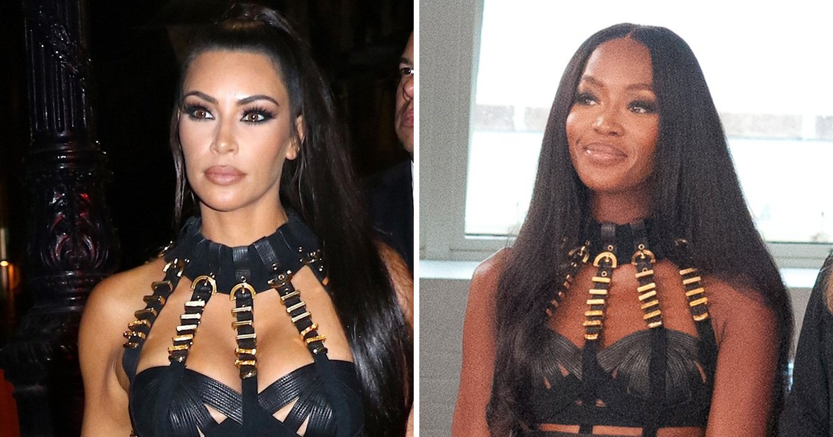 Kim Kardashian is Naomi Campbell's biggest fan – here's all the times she's stole her look