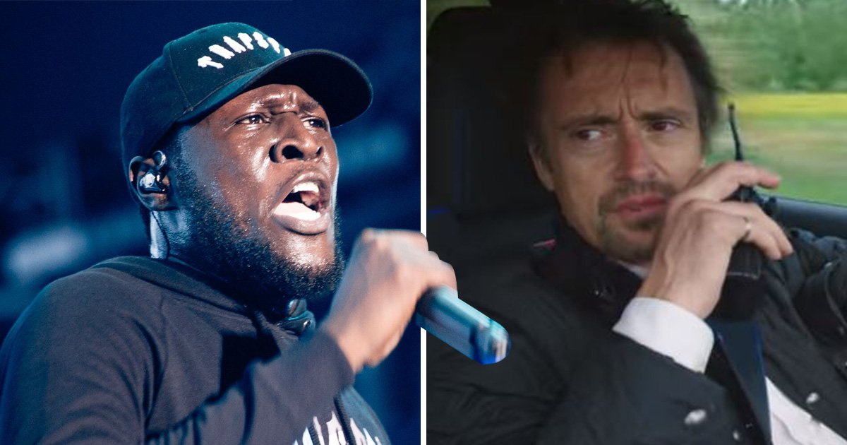 Richard Hammond makes painful Stormzy gaffe as The Grand Tour trio try to get down with the kids