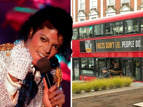 Advertising watchdog ends investigation into 'Michael Jackson is innocent' bus posters