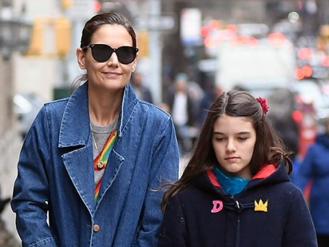 Katie Holmes enjoys quality time with daughter Suri amid Jamie Foxx split rumours