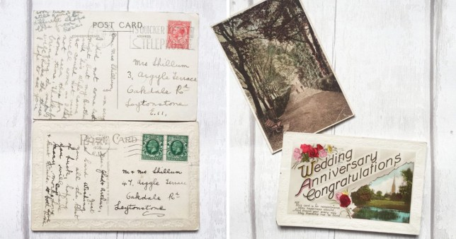 Woman finds postcards sent her grandparents in the 1930s on eBay