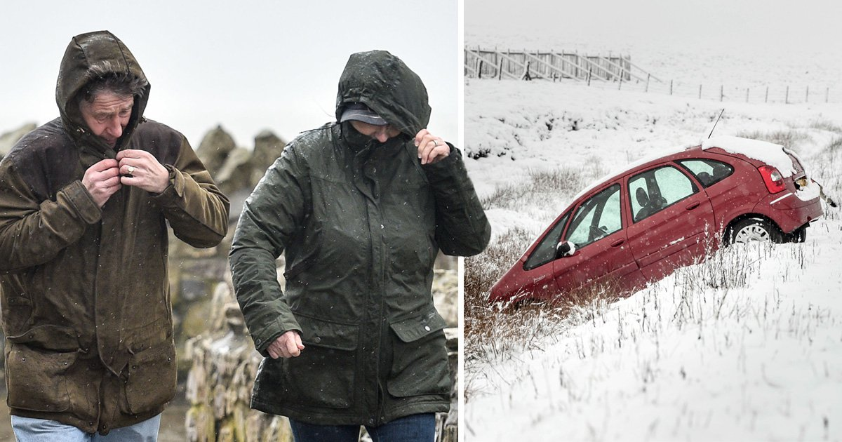 Storm Hannah waiting in the wings with heavy snow, flooding and 70mph winds