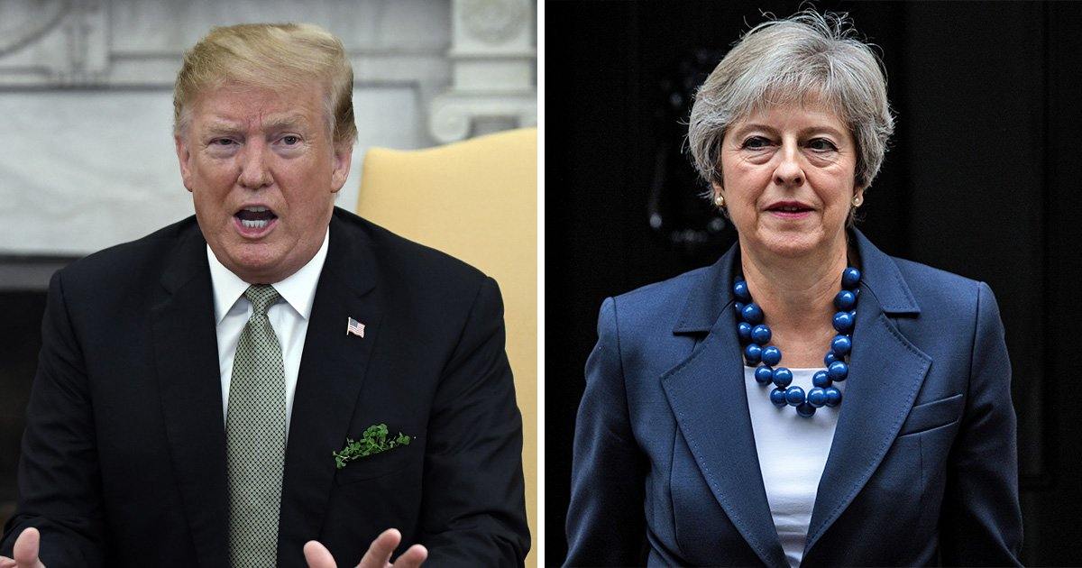 Donald Trump attacks Theresa May over 'how badly' Brexit has gone