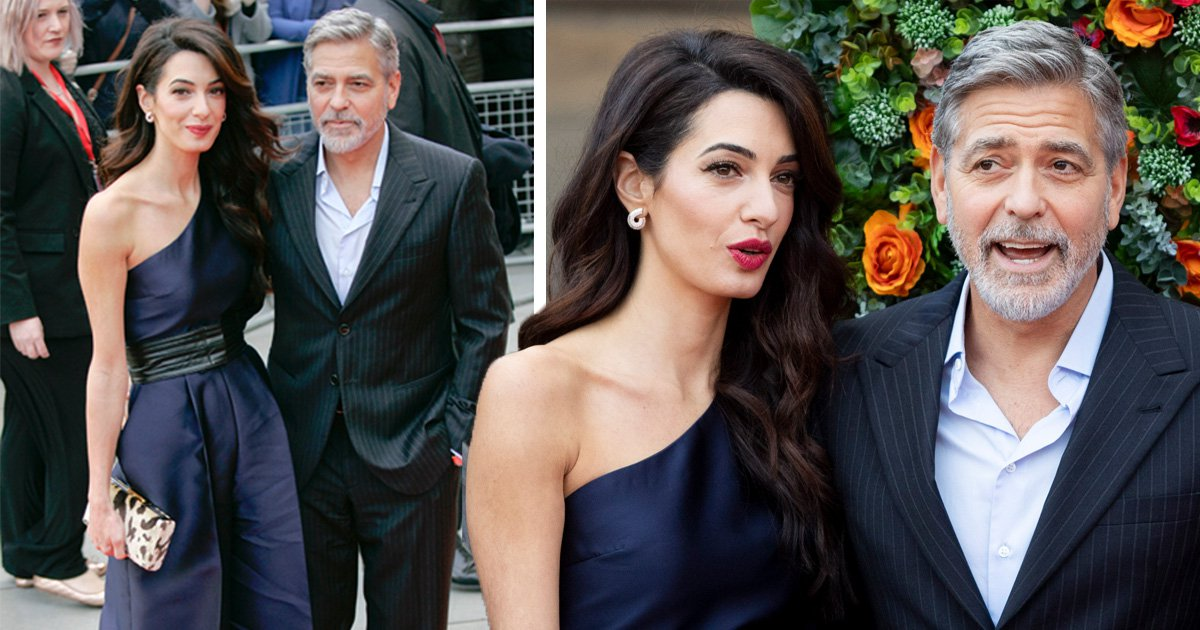 Amal and George Clooney are way too stylish as they take in Edinburgh charity bash and we are not worthy