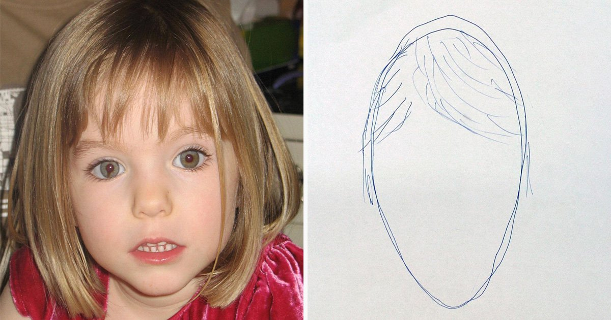 Madeleine McCann cops released sketch of 'egg with side parting' days after disappearance