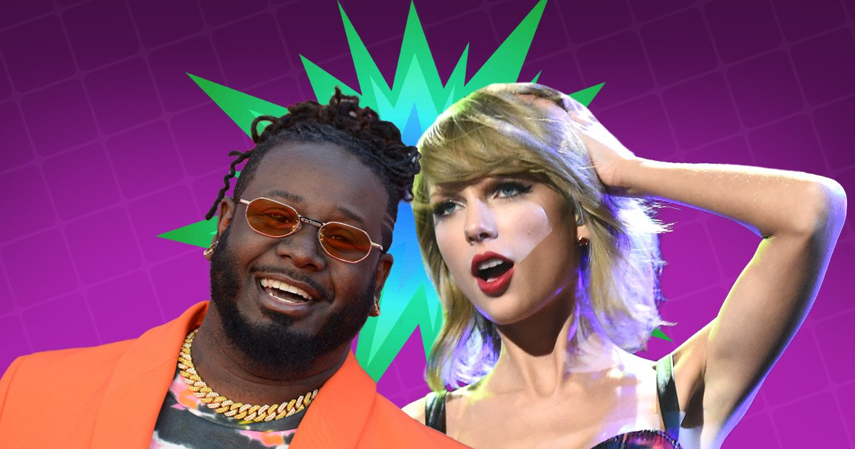 T-Pain headbutted Taylor Swift in the boob the first time he met her