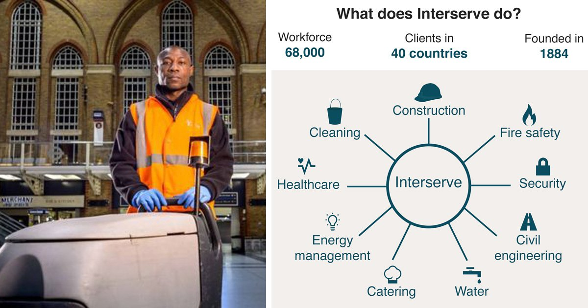 Around 45,000 jobs at risk as government contractor goes into administration