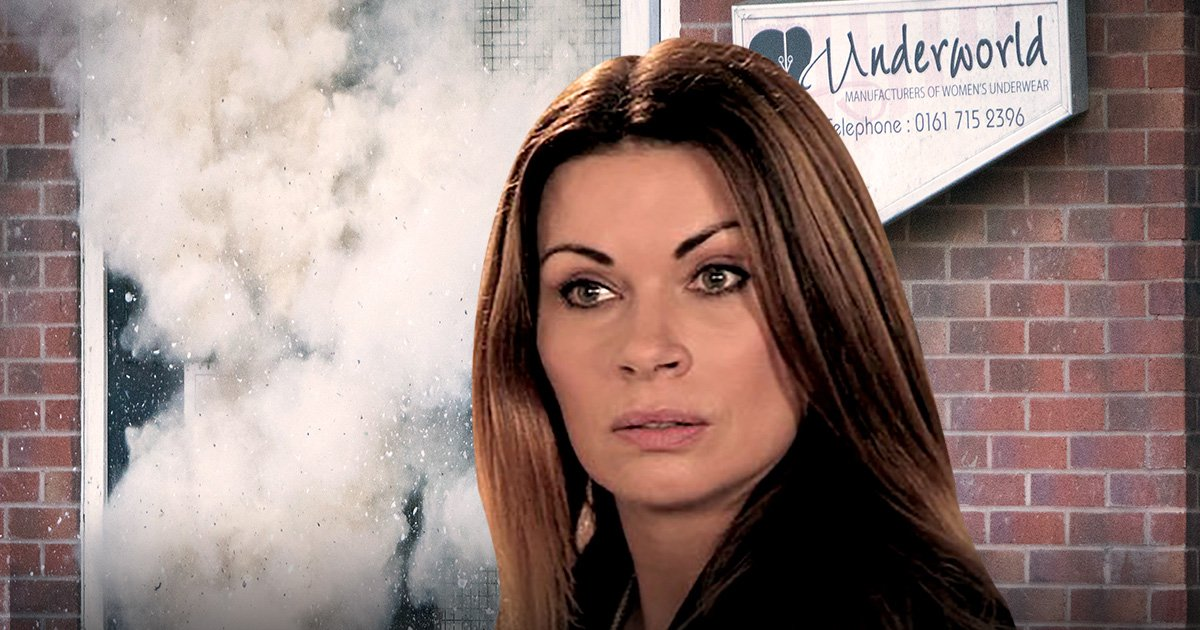 Carla Connor faces death in Coronation Street