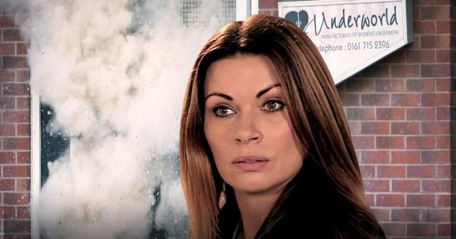 Carla Connor faces death in Coronation Street