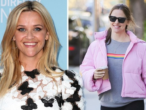 Reese Witherspoon jokes she and Jennifer Garner are having 'imaginary babies' while mocking pregnancy rumours
