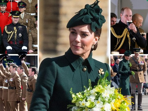 Duke and Duchess of Cambridge lead silence to pay respects to New Zealand victims at St Patrick's parade